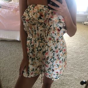 satin hollister romper